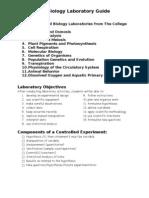 AP Bio Lab Guide