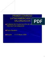 Ponencia Valorización de Paulo Sandroni - Brasil