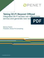 Wi Fi Beyond Offload