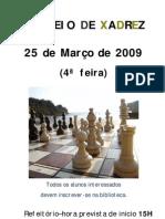 3º Torneio de Xadrez