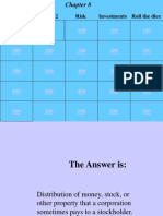 chap 8 - the fundamentals of investing - jeopardy - no answers
