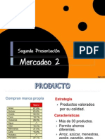 Segunda presentación - mercadeo 2