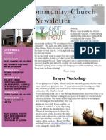 Newsletter Apr 13