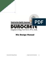 Mix Design Manual