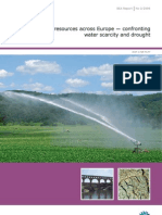Water Resources Across Europe - EEA Final Report