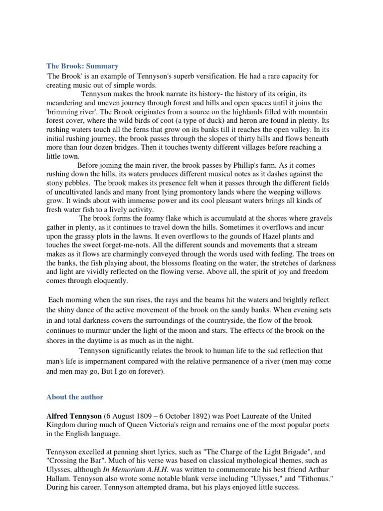 tithonus tennyson essay