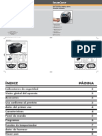 Manual Panificadora automática SBB 850 EDS A1