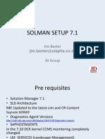 Transaction Solution Manager Setup Jim Baxter