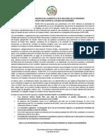 RECHAZAMOS EL ANUNCIO DEL AUMENTO A $315 MILLONES DE LA DEMANDA DE PACIFIC RIM CONTRA EL ESTADO SALVADOREÑO