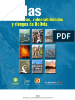 Atlas de Amenazas, Vulnerabilidades y Riesgos en Bolivia