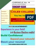 Coles Chronicle Vol 14.5