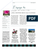 April Newsletter 2013