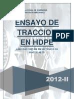 TRACCION HDPE