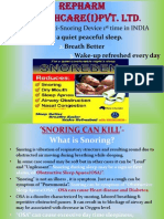 Snoreben - anti snoring device
