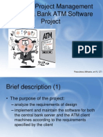 Bank ATM Software Project