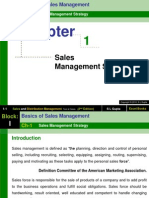 Sales Management Strategy