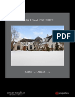 4006 Royal Fox, St. Charles Luxury Brochure