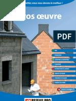 Catalogue-Gros-Oeuvre Réseau Pro