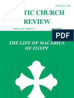 Coptic Church Review 2000 Fall.vol22. no. 3