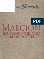 Adolf Harnack. Marcion_ Das Evangelium Vom Fremden Gott - Adolf Harnack