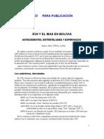 Evo y El MAS en Bolivia (1)1