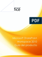 Microsoft SharePoint Workspace 2010 - Guía del producto