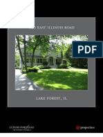 Lake Forest Mansion Luxury Brochure @ 425 E. Illinois