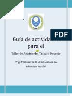Guía de actividades para el trabajo docente