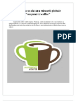 "Romania se alatura miscarii globale ""suspended coffee"""