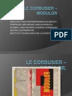 Le Corbusier – Modulor