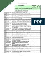 Risk Management Framework Checklists