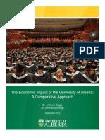 University of Alberta's economic impact