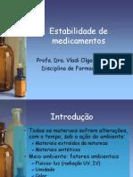 Estabilidade de Medicamentos 2009[1]