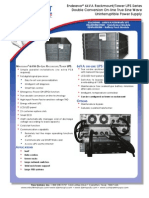 6 kva rack ups data sheet