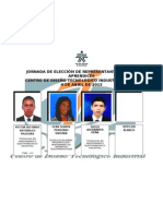 Candidatos CDTI 2013