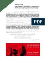 BALA LOCA Comunicado 3 de Abril