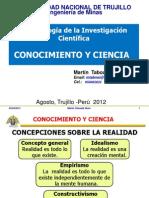 1. Conocimiento y Ciencia MINAS 2012