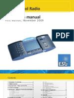 ECoSRadio Control ESUKG en User Manual Edition I December 2009 eBook 03