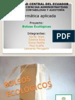 INFORMATICA bolsos ecologicos