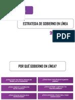 Diapositiva Del Nuevo Modelo de Gobierno en Linea 2013 Manual 3.1