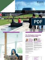 MSc Programmes Brochure 2013-2014