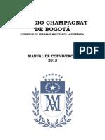 Champagnat Manual 2013