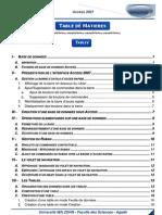 2012 - 2013 - Access 2007 - Tables - Relations - requêtes