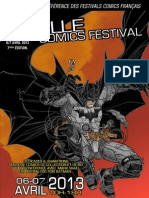 Plaquette Lille Comics Festival 2013
