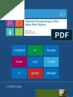 2012年微软TechEnd官方Win8风格PPT