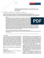 Assessment of growth and global developmental delay