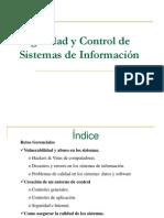 Seguridad y Control de Sistemas de Información