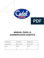 Manual Para Conservacion Auditiva