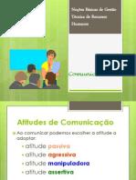 Atitudes Comunicacionais