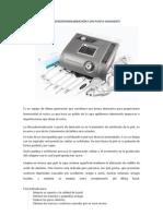 Manual Microdermoabrasion Con Punta Diamante. Traducido